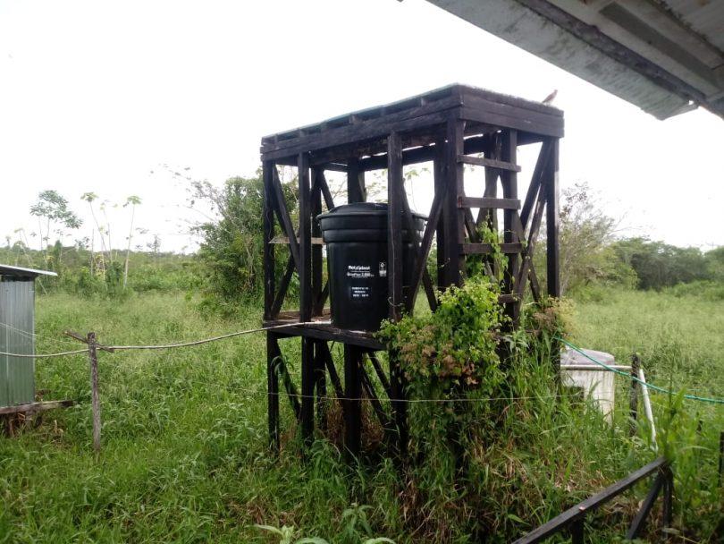 Tanque de agua I.E. Murindó, Antioquia